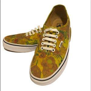 VANS X VAN GOGH Sunflowers/True White Shoes